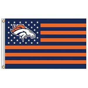 Denver Broncos American 3x5 Foot Flag